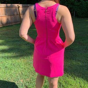 Cynthia Rowley Dresses - Cynthia Rowley Hot Pink Dress With Pockets